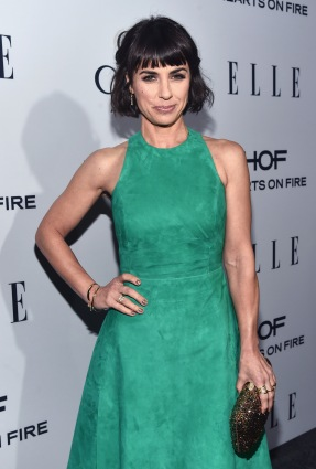 WEST HOLLYWOOD, CA - JANUARY 20: Actress Constance Zimmer attends ELLE's 6th Annual Women in Television Dinner Presented by Hearts on Fire Diamonds and Olay at Sunset Tower on January 20, 2016 in West Hollywood, California. (Photo by Alberto E. Rodriguez/Getty Images for ELLE)